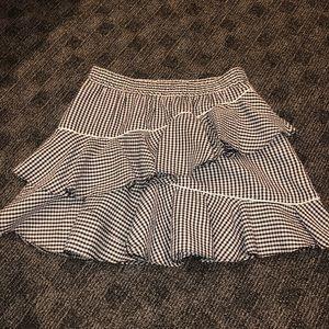 ASOS gingham mini skirt